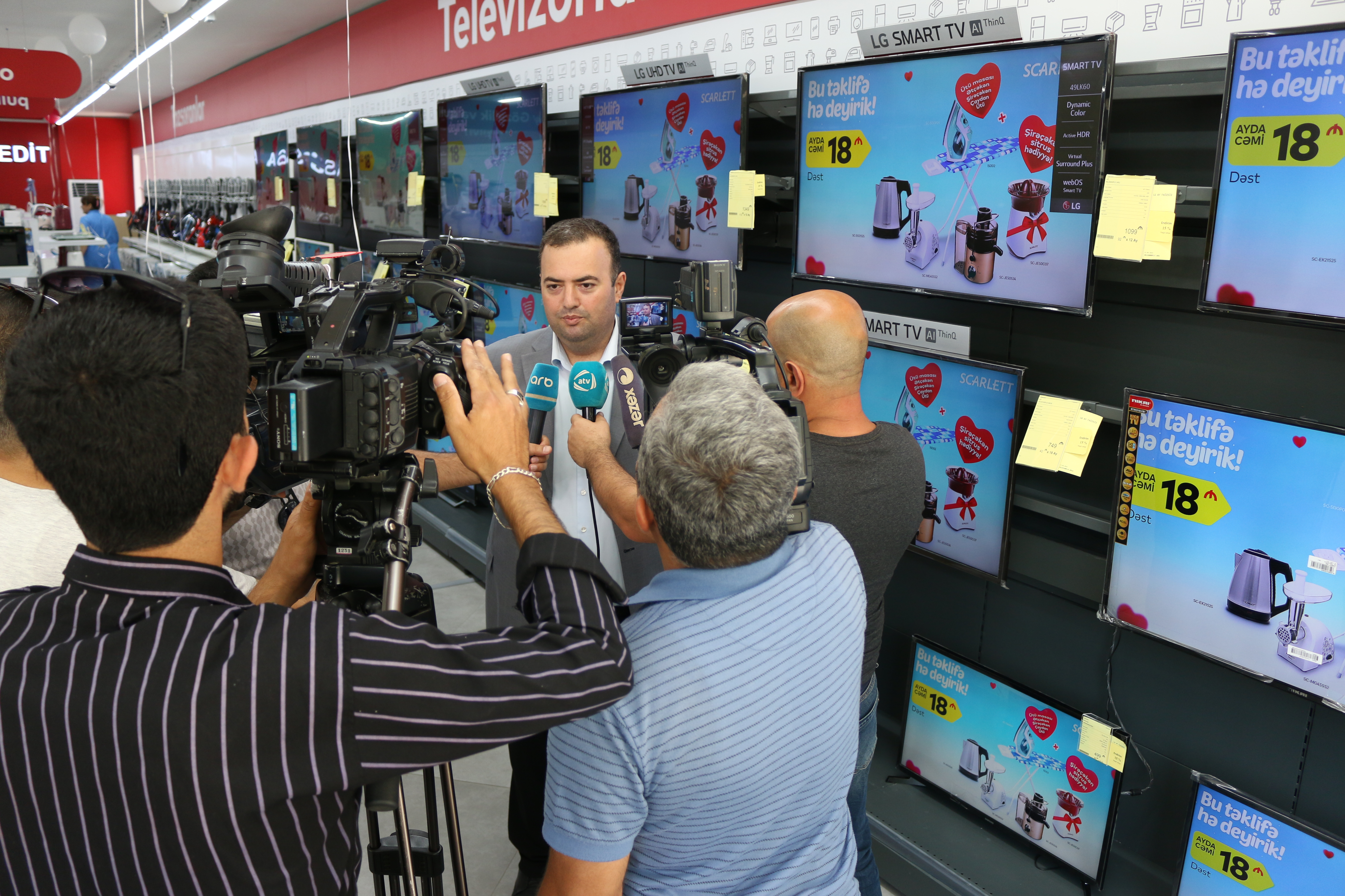 Baku-Electronics-Lenkeran Mağaza Açılışı