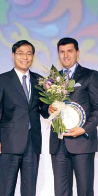 Shahram Eromi Hyundai Servis Ödülleri